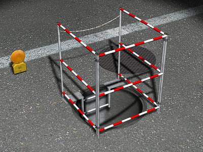 Precio en per de ud de baranda de seguridad para for Barandas de seguridad